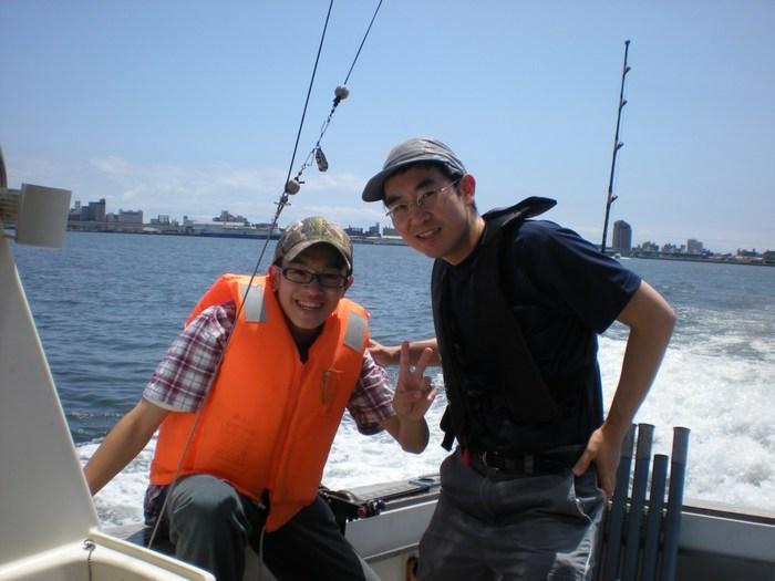 kotaro%20and%20akihiro%20boat.JPG