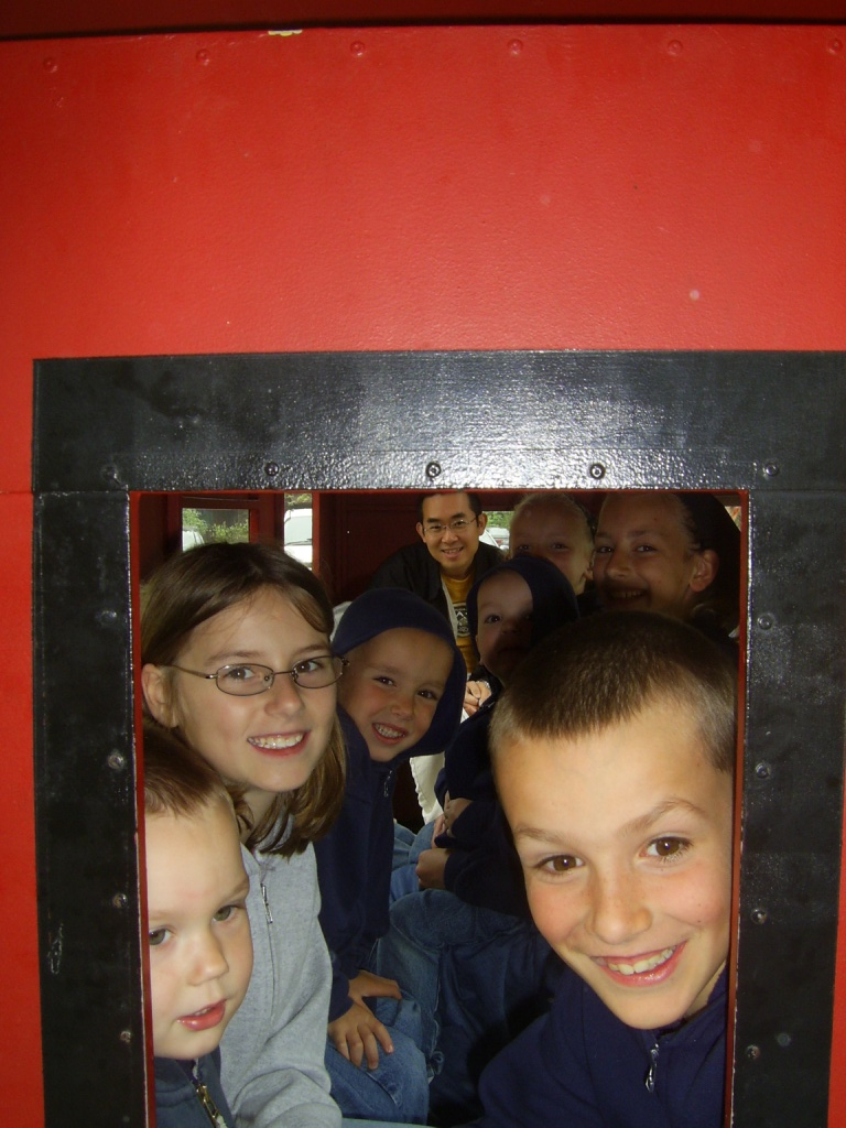neices%20and%20nephews%20on%20train.JPG